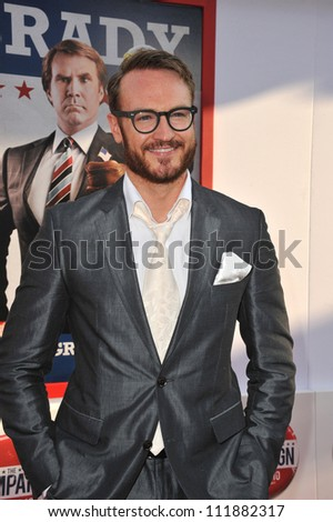 LOS ANGELES, CA - AUGUST 3, 2012: Josh Lawson at the Los Angeles premiere of his movie The Campaign at Grauman's Chinese Theatre, Hollywood.