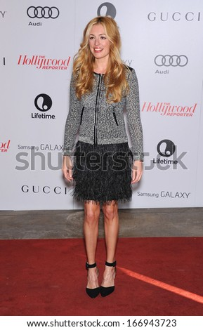 LOS ANGELES - DEC11:  Cat Deeley arrive to Women in Entertainment Breakfast 2013  on December 11, 2013 in Hollywood, CA
