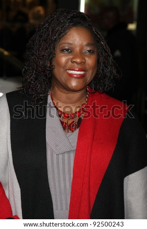 "LOS ANGELES - JAN 9:  Loretta Devine arrives at the""Joyful Noise"" Premiere at Graumans Chinese Theater on January 9, 2012 in Los Angeles, CA"