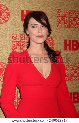 LOS ANGELES - JAN 12:  Michelle Forbes at the HBO 2014 Golden Globe Party  at Beverly Hilton Hotel on January 12, 2014 in Beverly Hills, CA
