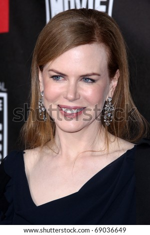 LOS ANGELES - JAN 14: Nicole Kidman arrives at the 16th Annual Critics' Choice Movie Awards at Hollywood Palladium on January 14, 2011 in Los Angeles, CA