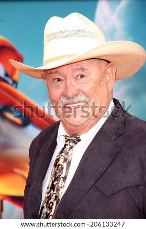 "LOS ANGELES - JUL 16:  Barry Corbin at the ""Planes: Fire & Rescue"" World Premiere at the El Capitan Theater on July 16, 2014 in Los Angeles, CA"