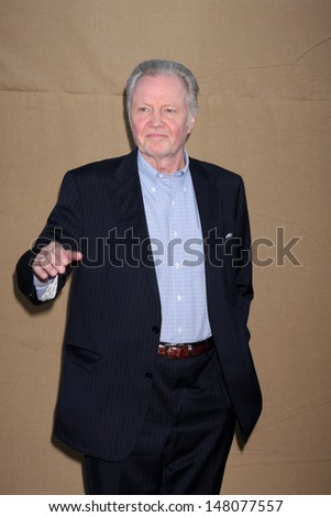 LOS ANGELES - JUL 29:  Jon Voight arrives at the 2013 CBS TCA Summer Party at the private location on July 29, 2013 in Beverly Hills, CA