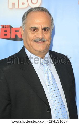 LOS ANGELES - JUN 8: Marshall Manesh at the Premiere of HBO's 'The Brink' at the Paramount Theater at Paramount Studios on June 8, 2015 in Los Angeles, CA