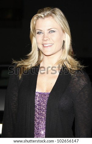 LOS ANGELES - JUNE 29: Alison Sweeney at the 'The Voice' Live Finale After Party at the Avalon Hollywood on June 29, 2011 in Los Angeles, California