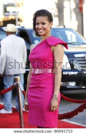LOS ANGELES - JUNE 27:Gugu Mbatha-Raw arrives at the Premiere of Universal Pictures' 'Larry Crowne' at Grauman's Chinese Theatre on June 27, 2011 in Los Angeles, California
