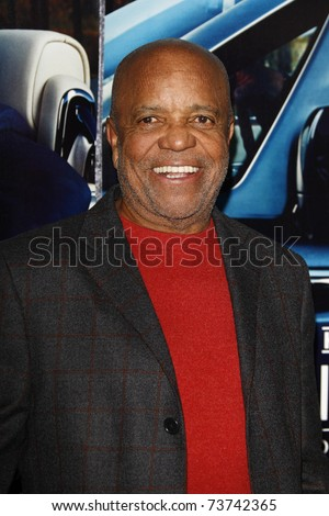 LOS ANGELES - MAR 22:  Berry Gordy arrives at the Los Angeles HBO Premiere of 'His Way' at Paramount Studios in Los Angeles, California on March 22, 2011.