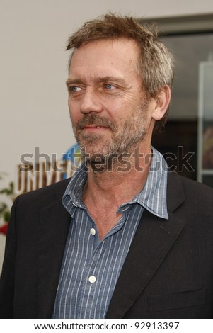 LOS ANGELES - MAR 27:  Hugh Laurie arriving at the World Premiere of 'HOP' held at Universal Studios Hollywood in Los Angeles, California on March 27, 2011.