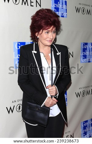"LOS ANGELES - MAR 3:  Sharon Osbourne at the ""An Evening with Women"" Concert presented by the L.A. Gay & Lesbian Center at the Roxy Theater on March 3, 2014 in West Hollywood, CA"