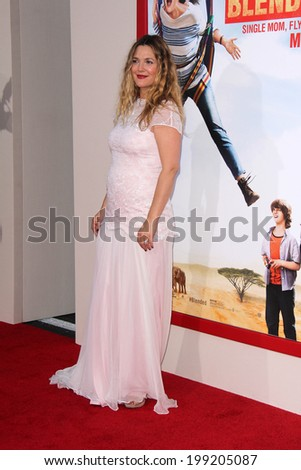 "LOS ANGELES - MAY 21:  Drew Barrymore at the ""Blended"" Premiere at TCL Chinese Theater on May 21, 2014 in Los Angeles, CA"