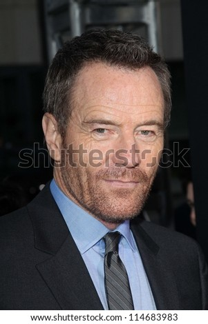 "LOS ANGELES - OCT 4:  Bryan Cranston arrives at the ""ARGO"" Premiere at Samuel Goldwyn Theater on October 4, 2012 in Beverly Hills, CA"