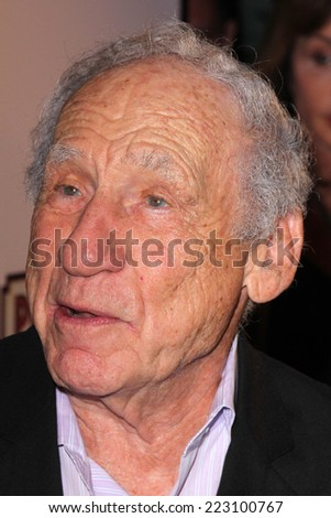 "LOS ANGELES - OCT 6:  Mel Brooks at the ""As You Wish"" Book Launch Party at Pearl on October 6, 2014 in West Hollywood, CA"