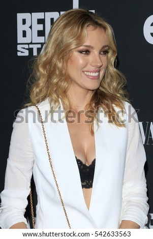 "LOS ANGELES - SEP 29:  Bar Paly at the ""Berlin Station"" Premiere Screening at Milk Studios on September 29, 2016 in Los Angeles, CA"
