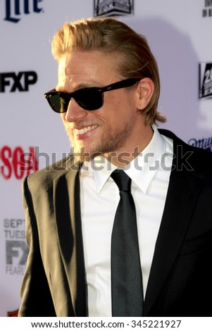 "LOS ANGELES - SEP 6:  Charlie Hunnam at the ""Sons Of Anarchy"" Premiere Screening at the TCL Chinese Theater on September 6, 2014 in Los Angeles, CA"