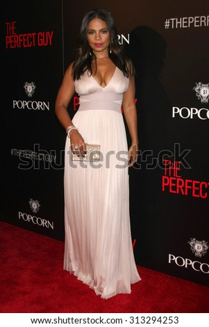 "LOS ANGELES - SEP 2:  Sanaa Lathan at the ""The Perfect Guy"" LA Premiere at the Writer's Guild Theater on September 2, 2015 in Beverly Hills, CA"