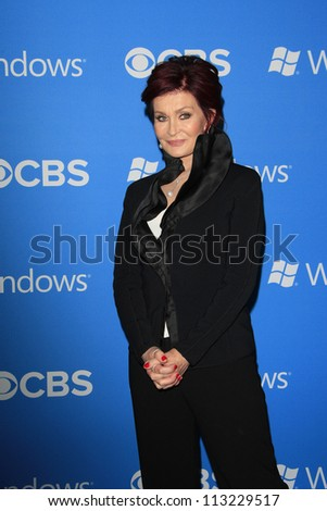 LOS ANGELES - SEP 18: Sharon Osbourne at the CBS 2012 Fall Premiere party at Greystone Manor on September 18, 2012 in Los Angeles, California
