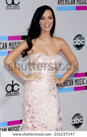 LOS ANGELES, USA - NOVEMBER 21: Katy Perry at the 2010 American Music Awards held at the Nokia Theatre L.A. Live in Los Angeles, USA on November 21, 2010.