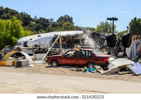 Car Accident Pomona California November