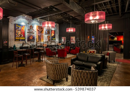LOUISVILLE, KENTUCKY - NOVEMBER 8: VIP room in the Louisville Palace theater on 4th Street on November 8, 2016 in Louisville, Kentucky