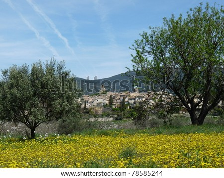 Lourmarin is listed as one of the most beautiful village in Provence nestles in the middle of vinyards, olive groves