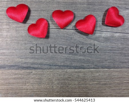 Love Is All Around Wallpaper : Valentines Day Background Hearts On Wood Stock Photo 482196136 - Shutterstock