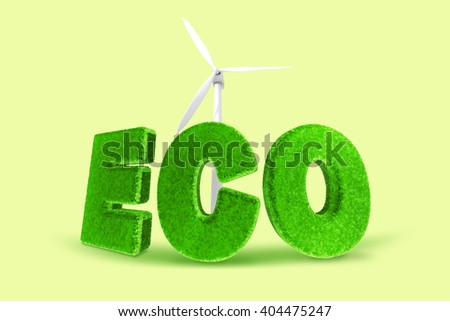 Low carbon green environment