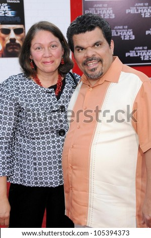 Luis Guzman and wife Angelita at the Los Angeles Premiere of 'The