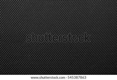 Luxury Black Artificial Leather material textured background surface for decoration interiors and industrial design.