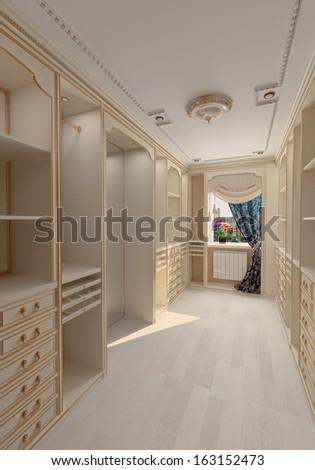Residential house garage interior stock photo 63340165 for Luxury garage interiors