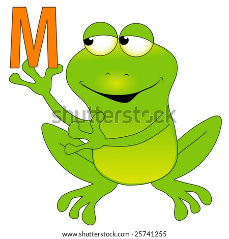 M frog.