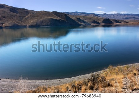 Mackay Reservoir, Salmon Challis National Forest, Custer County Idaho - Mount McCaleb