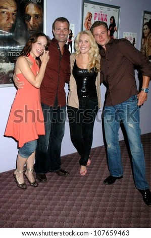 - stock-photo-mackenzie-firgens-and-bradley-snedeker-with-mercedes-mcnab-and-frank-krueger-at-the-los-angeles-107659463