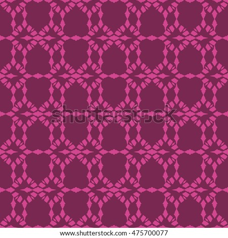 Magenta abstract background, striped textured geometric seamless pattern