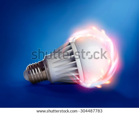 Magic LED bulb