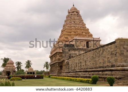 Majestic Temple of an old Temple in Tamil Nadu(KangaiKonda Cholapuram, 12th century AD)