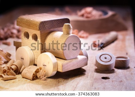 Making Wooden Toys.