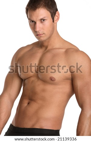 Male torso without underwear