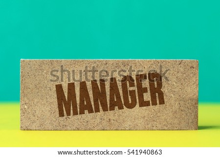 Manager, Business Concept