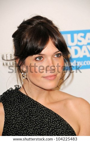 Mandy Moore at the USA Today Hollywood Hero Gala honoring Ashley Judd,  Montage Hotel, Beverly Hills, CA.  11-10-09