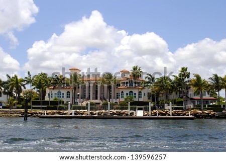 Mansion in Fort Lauderdale, Florida USA