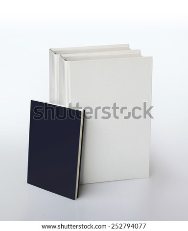 manuals with empty covers for free-text