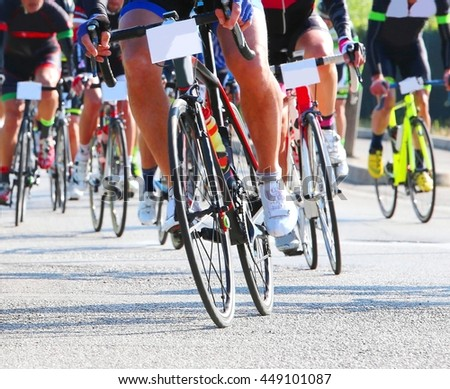 Group Cyclist Professional Race Stock Photo 100176515 ...