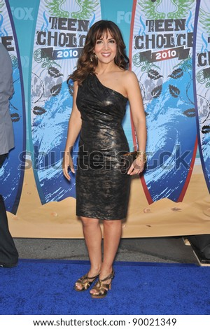 Maria Canals-Barrera at the 2010 Teen Choice Awards at the Gibson Amphitheatre, Universal Studios, Hollywood, CA. August 8, 2010  Los Angeles, CA Picture: Paul Smith / Featureflash
