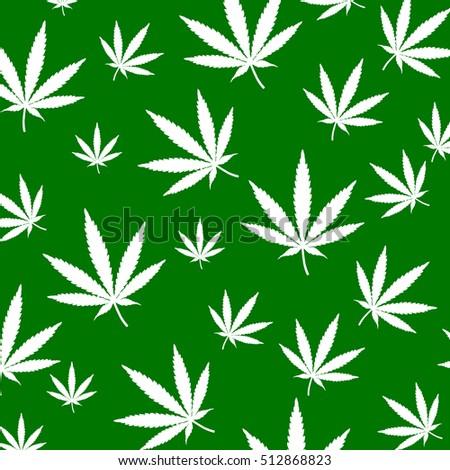 weed leaf template - cannabis background marijuana ganja weed hemp stock vector