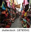 Market in Granada - stock photo
