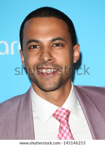 Marvin Humes arriving for the Arqiva Radio Awards, at the Westminster Park Plaza Hotel, London. 03/07/2013