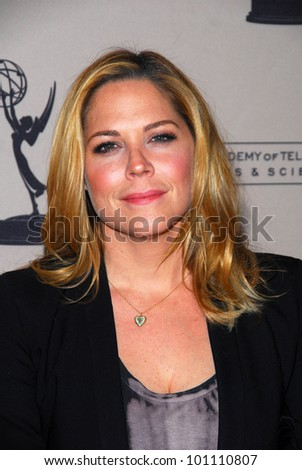 Mary McCormack at the Academy of Television Arts and Sciences