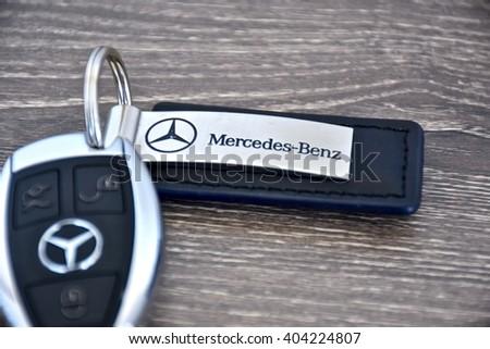 Maryland usa april 10 2016 mercedesbenz stock photo for Mercedes benz car key