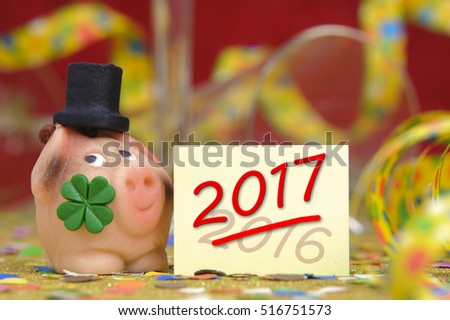 marzipan talisman at new years 2017