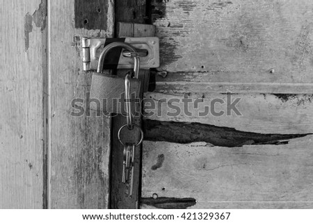 Master Key (black and white)